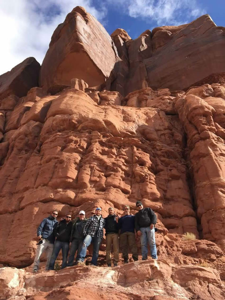 Integrity Roofing & Painting on a hike in Colorado